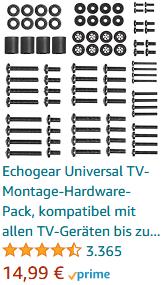 Echogear Universal TV-Montage-Hardware-Pack