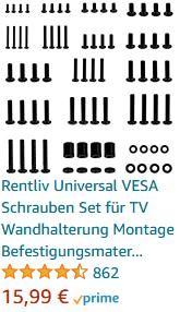 Rentliv Universal VESA Schrauben Set
