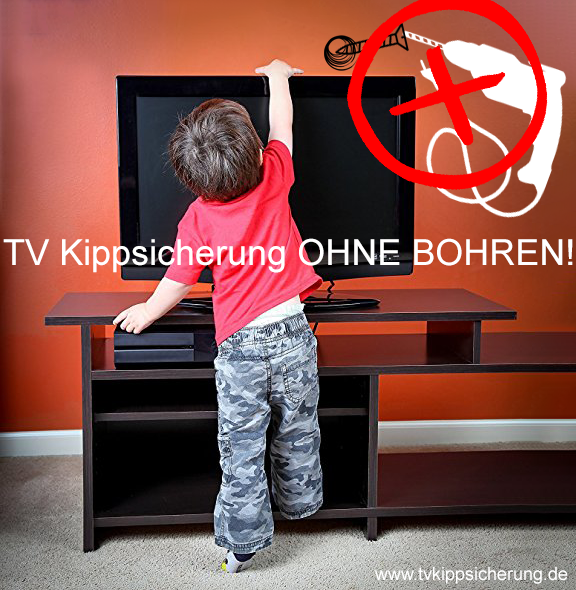 TV Kippsicherung ohne Bohren